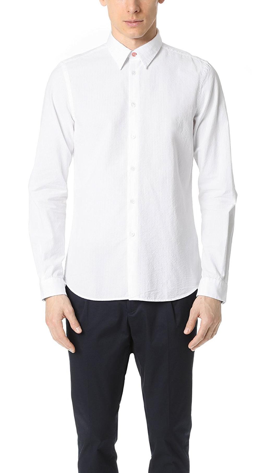 PS Paul Smith seersucker shirt