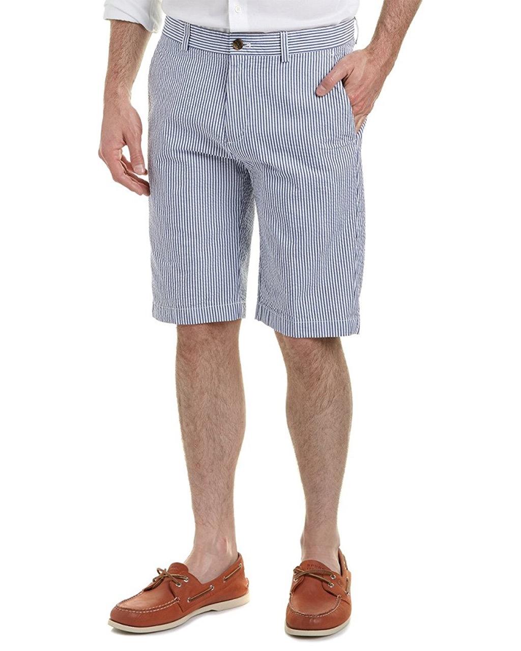 brooks brothers seersucker shorts