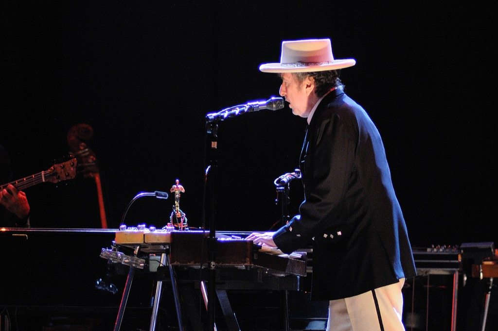 Bob Dylan, live music