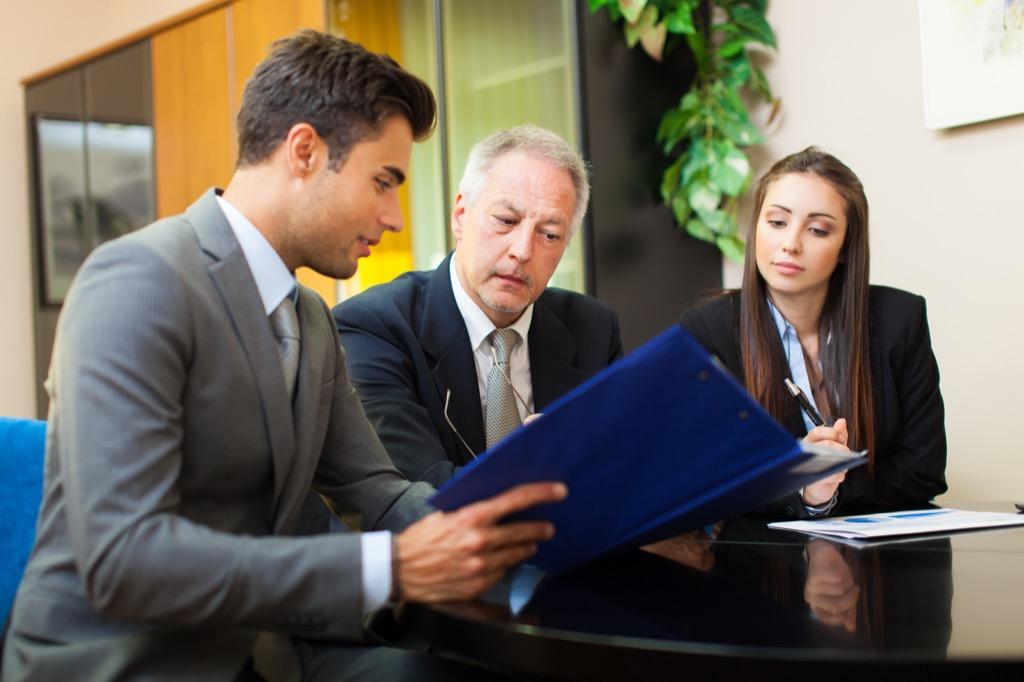 Boss Business Meeting