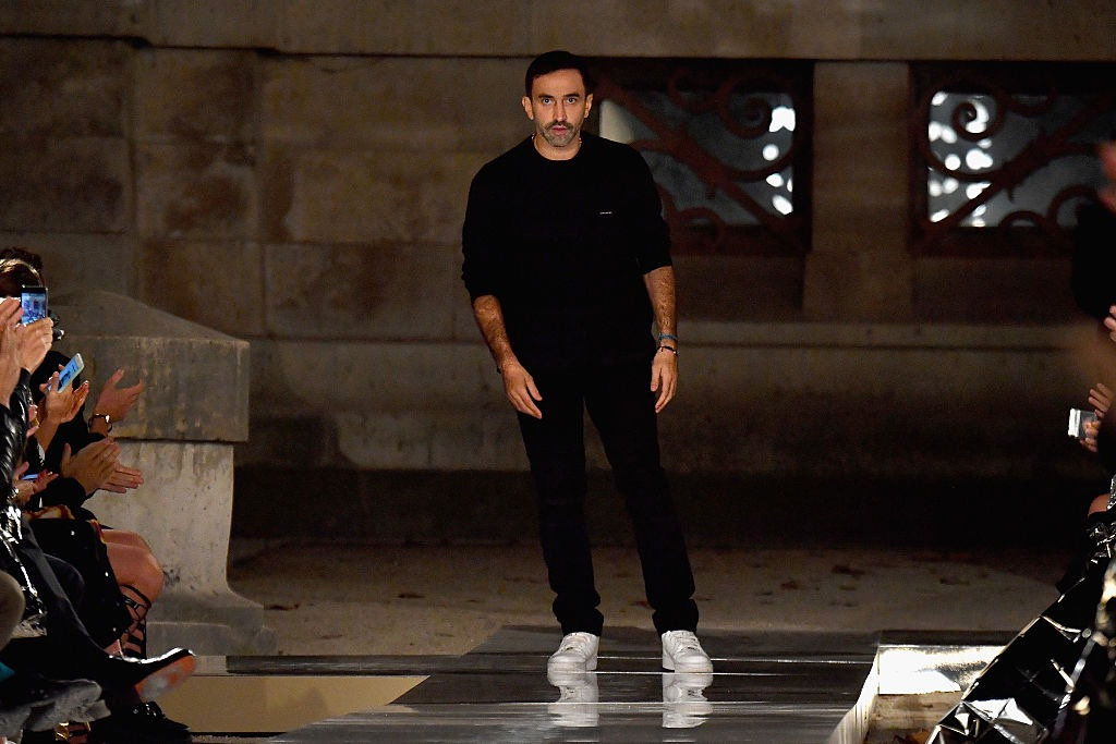 riccardo tisci wears the same thing every day