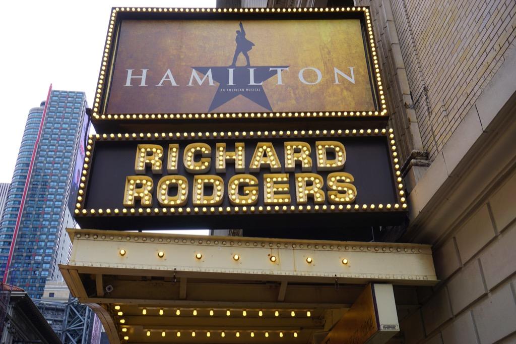 Hamilton, Broadway, musicals