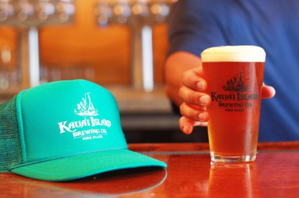 Craft Beer, Hawaii, Kaua'i Island Brewery & Grill