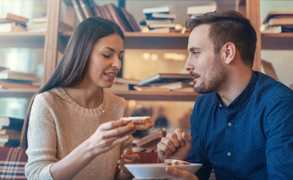 Couple, sandwiches airport secrets