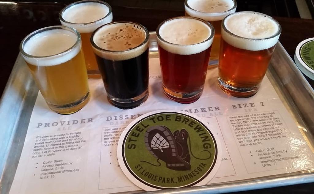 Craft Beer, Minnesota, Steel Toe Brewing