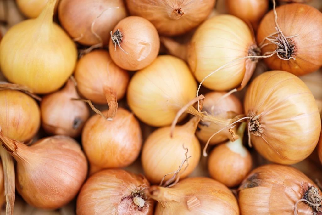 Onions, healthy food corny jokes