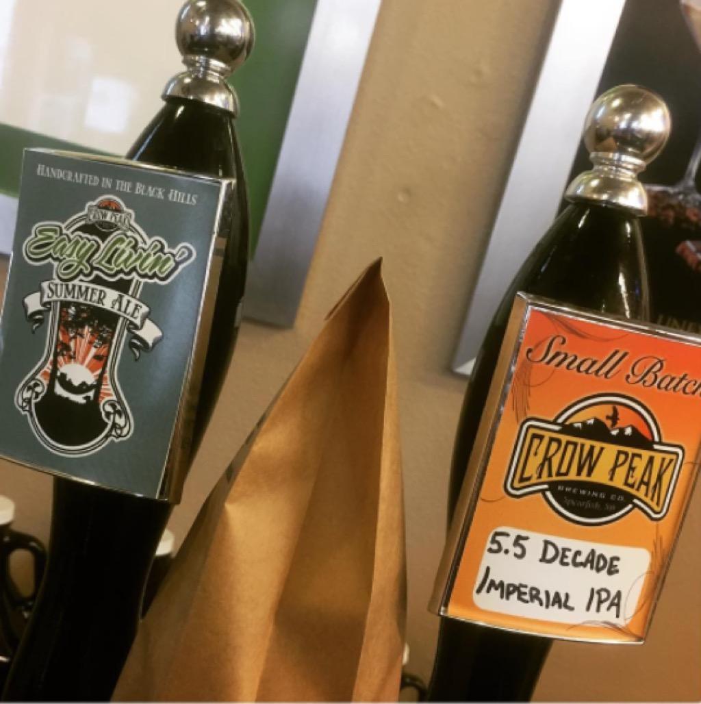 Craft beer, South Dakota, Crow Peak Brewing Co