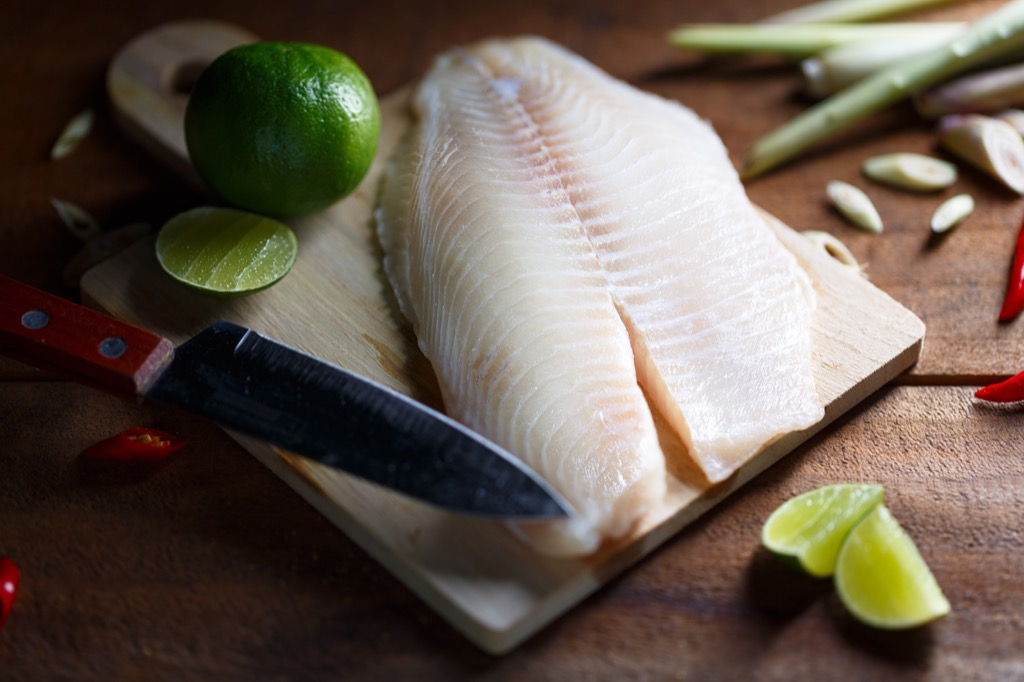 White fish, foods that make you smell good