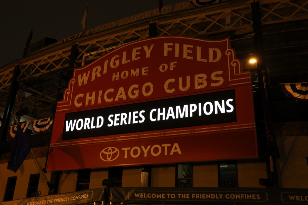 Wrigley Field, Chicago Cubs, World Series
