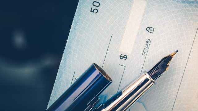 How to write a check with a fountain pen up close; over 40, things old people say