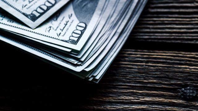 Hundred dollar bills, representing savings