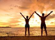 happy people outside, ways to feel amazing