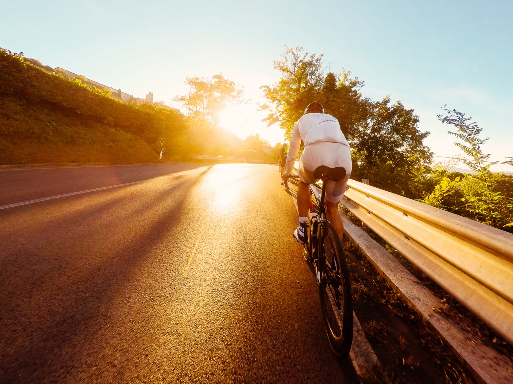 superhuman feats biking across country bike