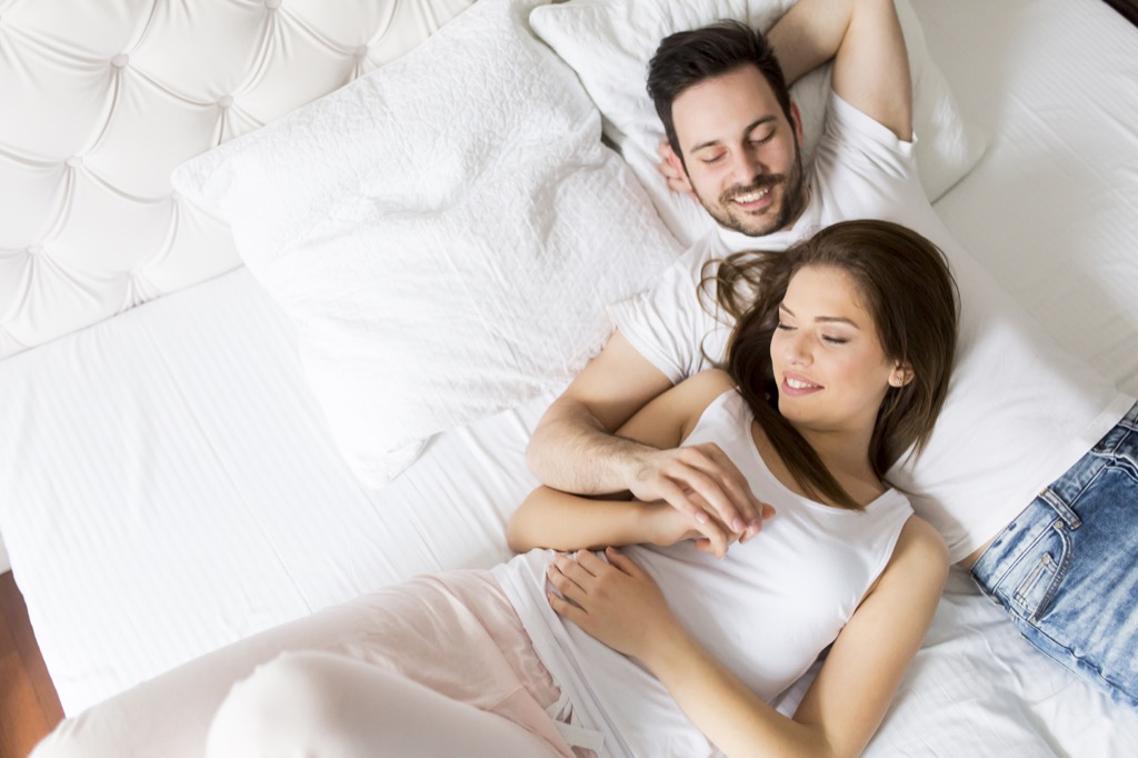 Marriage, couple, sex stressed out