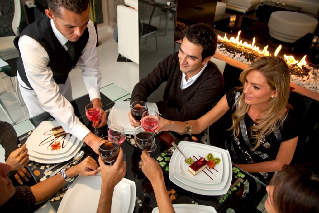 words and phrases no man, Things You Should Always Do at a Fancy Restaurant