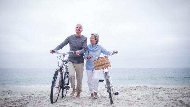 Couple, elderly couple