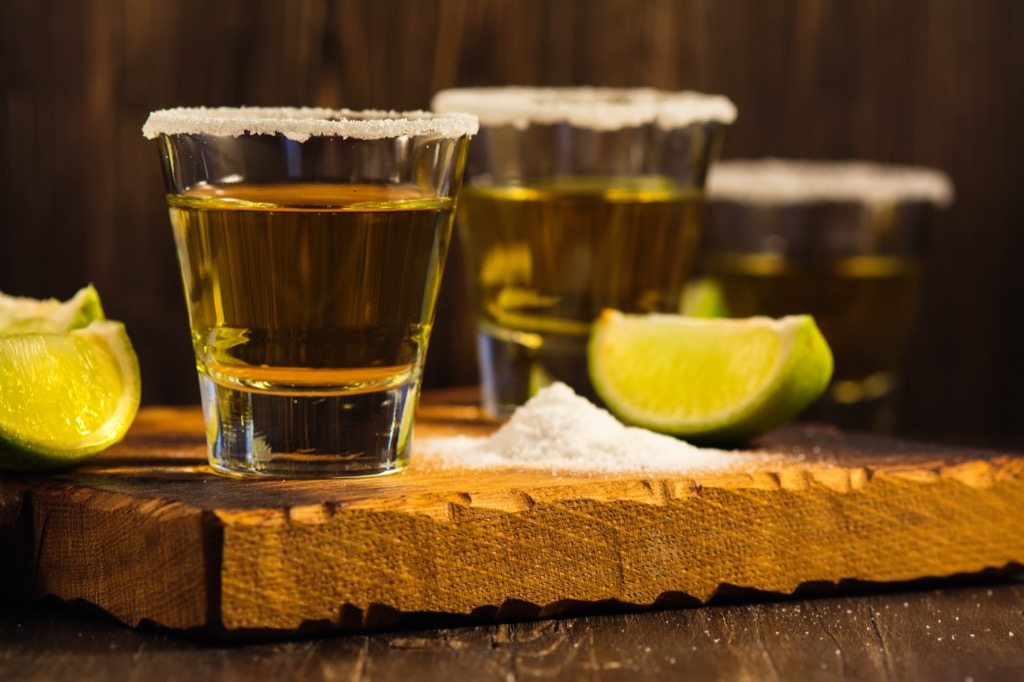 tequila shots words and phrases