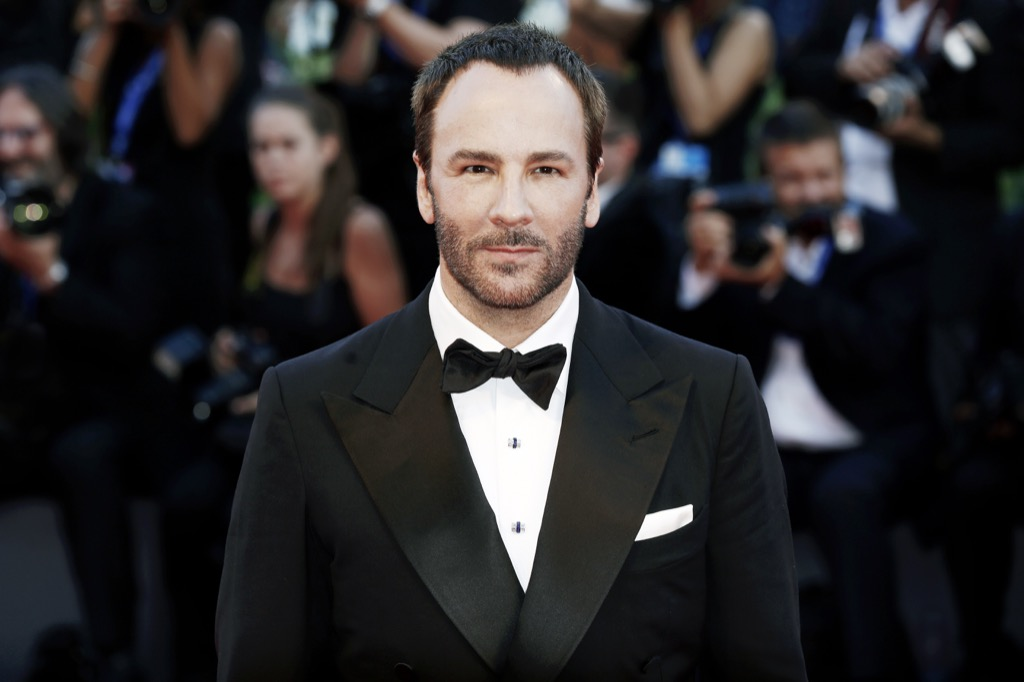 tom ford wears the same thing every day