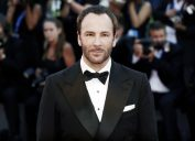Tom Ford on the red carpet at Venice Film Festival in 2016