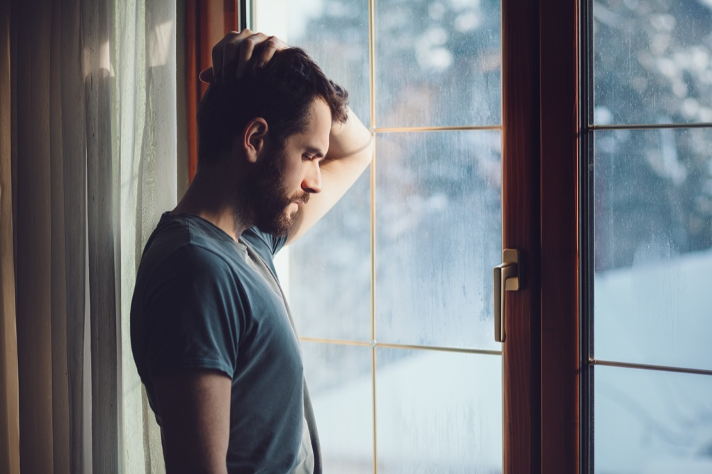 is my relationship doomed man staring out window