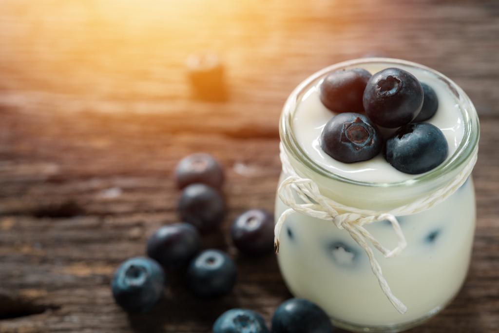 yogurt snack for low blood pressure