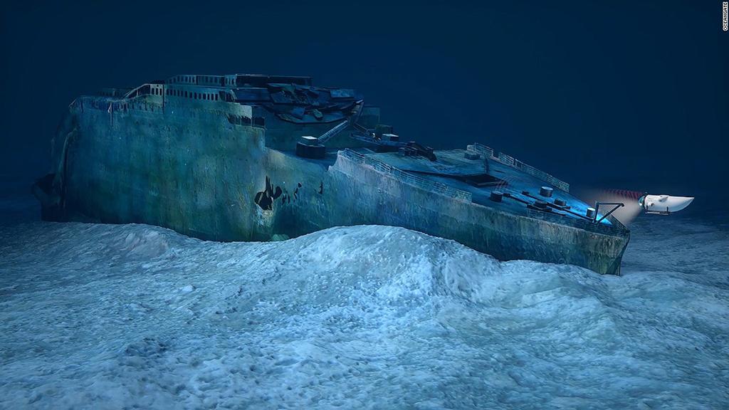 Luxury adventures, the Titanic