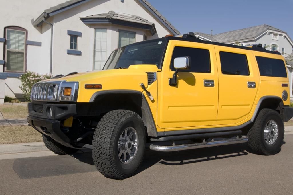 50 things no man over 40 should own hummer