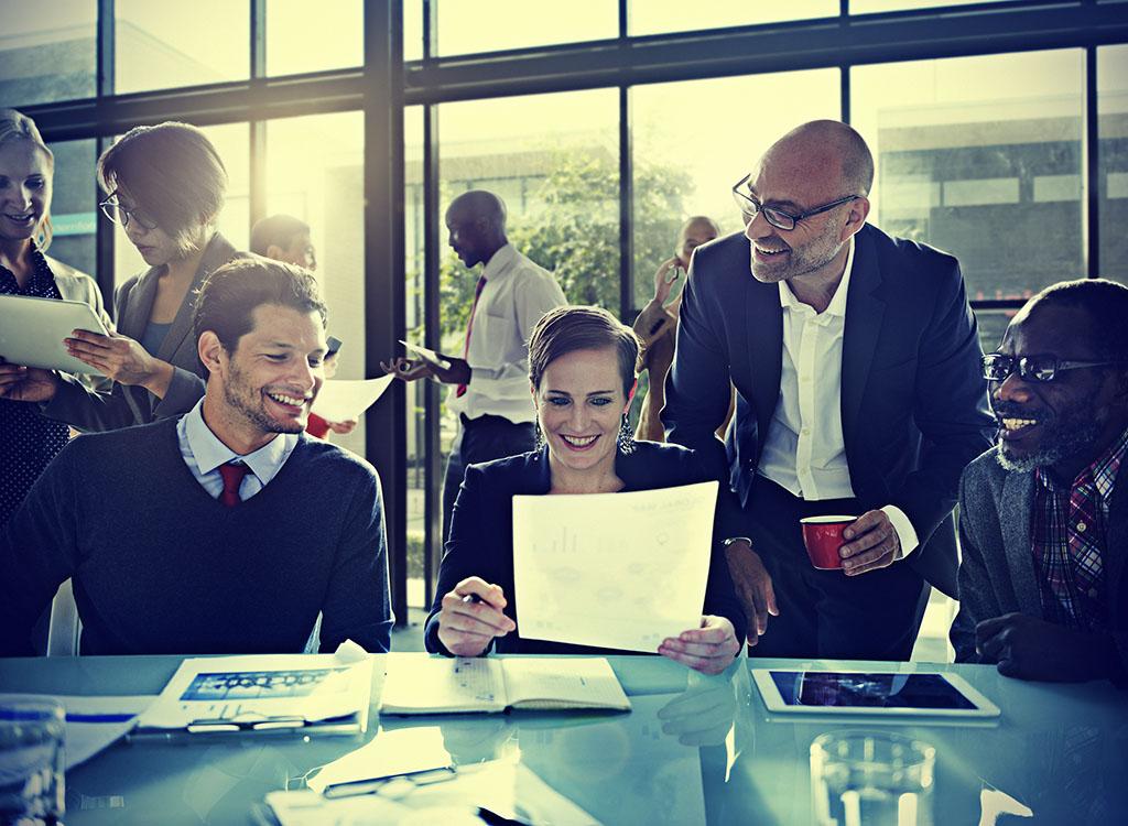 Team, business team, leadership