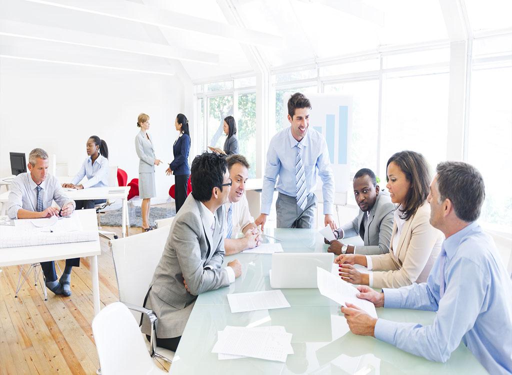 Business Meeting Career