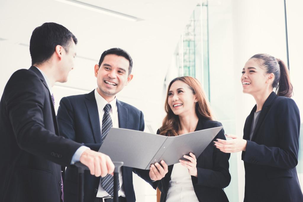 Business team, team