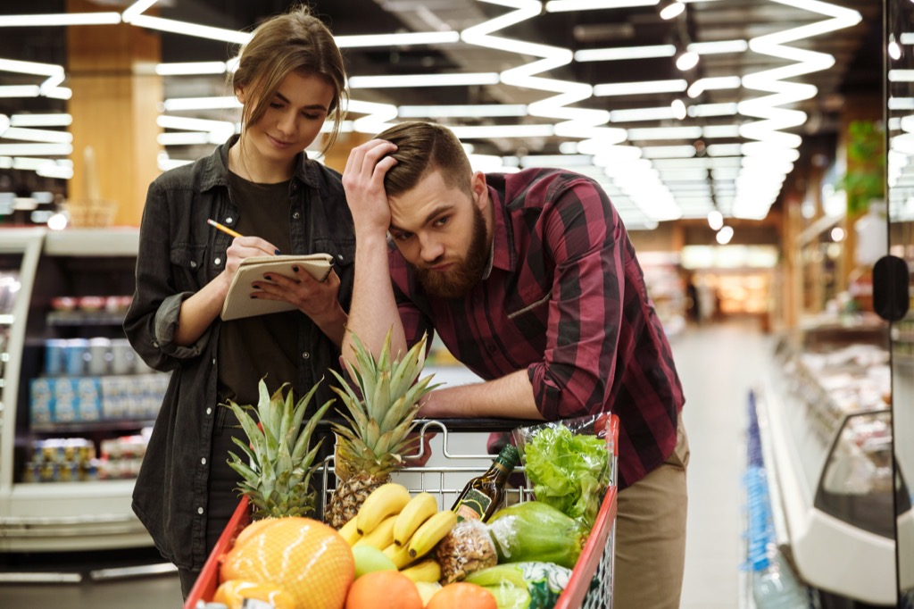 Grocery List Grocery Shopping Mistakes