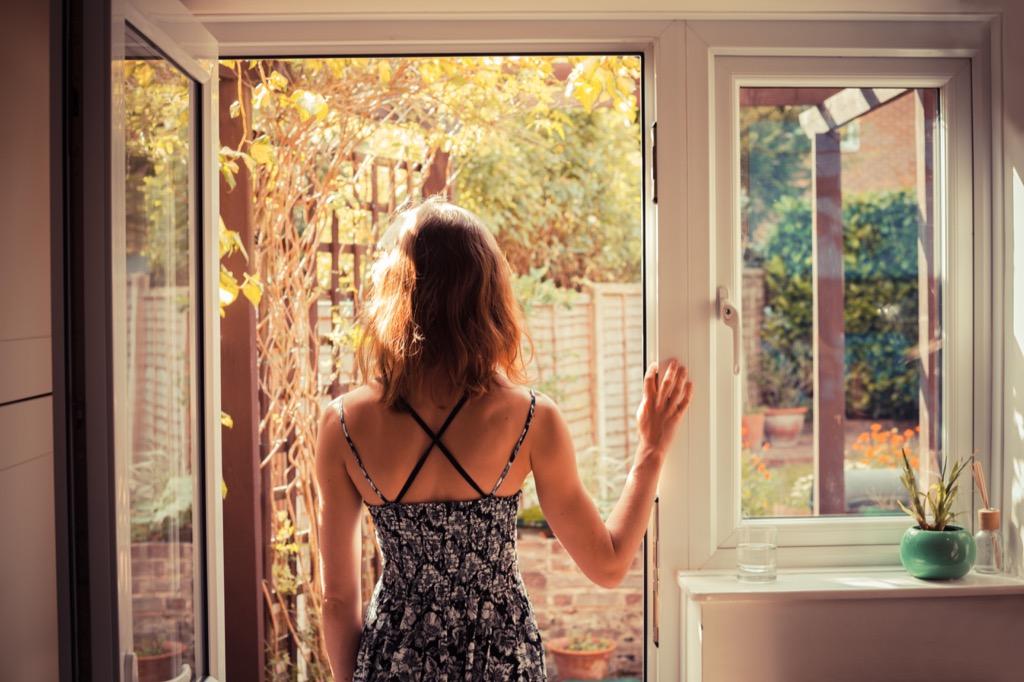 Fearful Woman Regrets