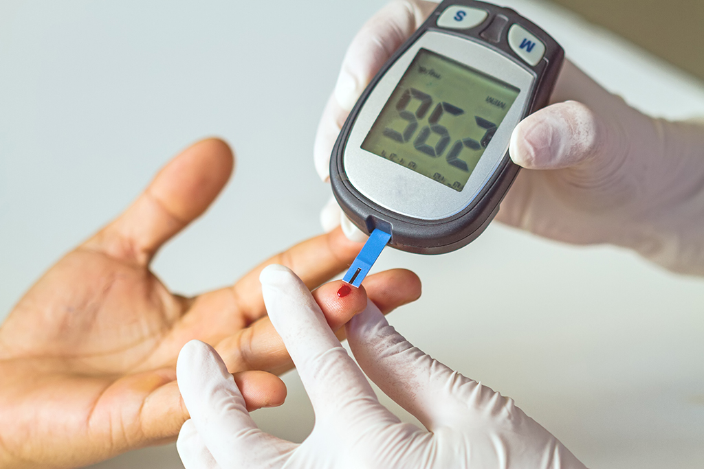 blood glucose, first heart attack