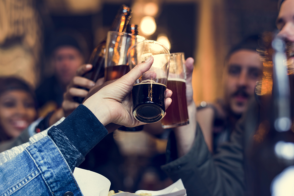 craft beer, stay lean younger
