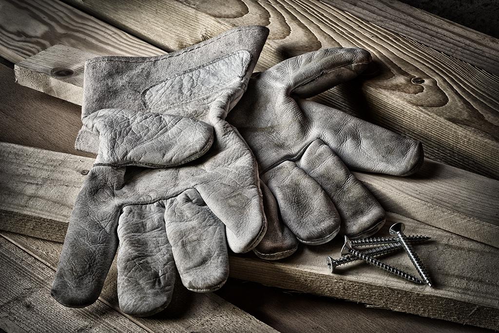 work gloves, over 40