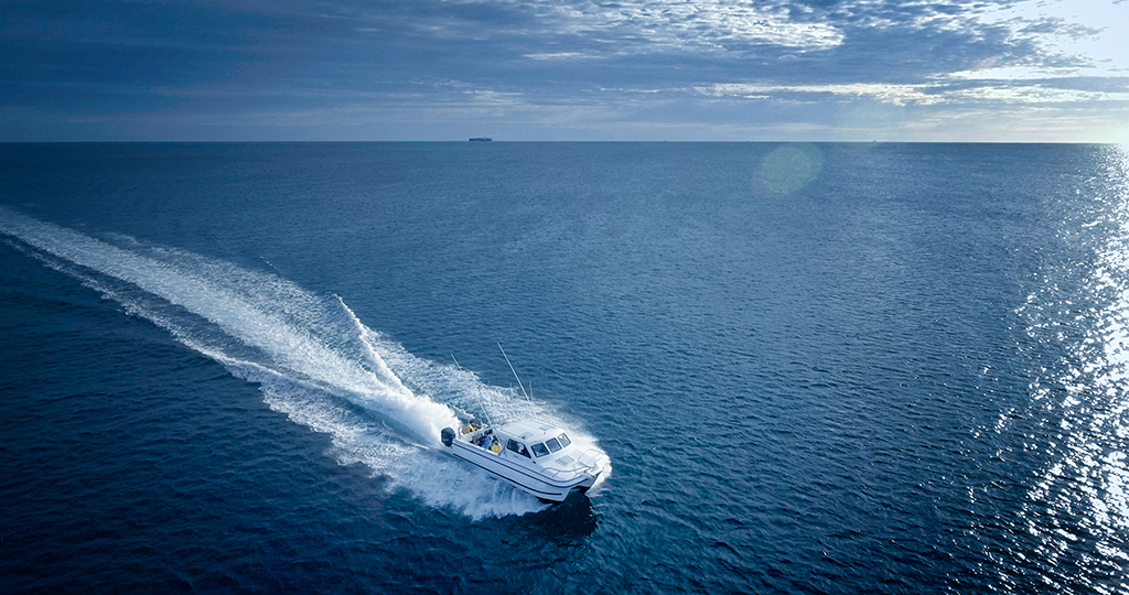 Luxury adventures, boating fishing