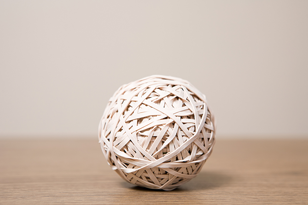 rubber band, calm