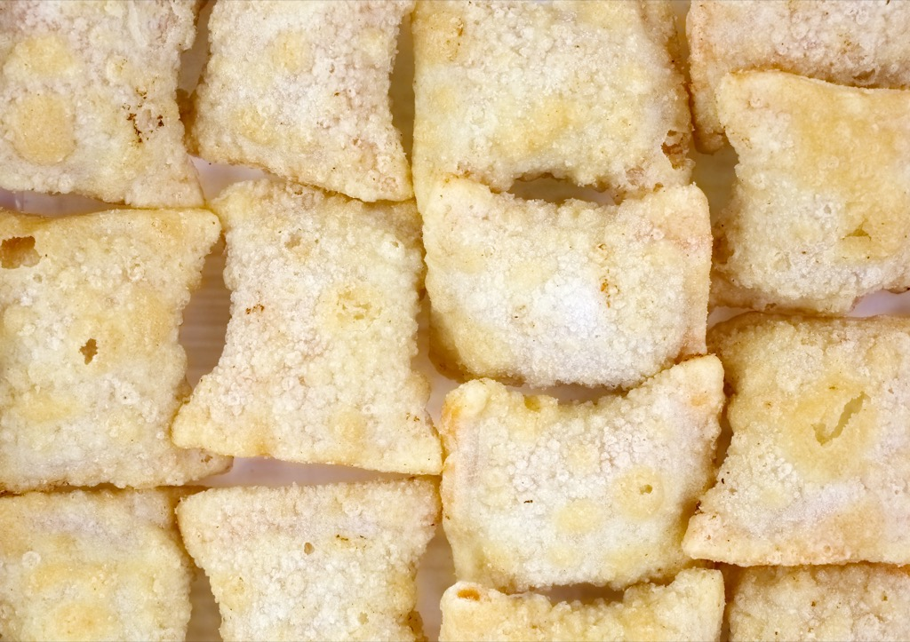 Frozen pizza rolls, what to give up in your 40s