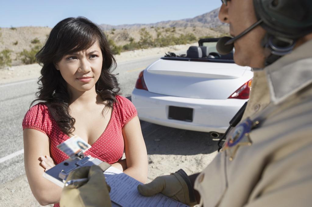 Speeding, speeding ticket