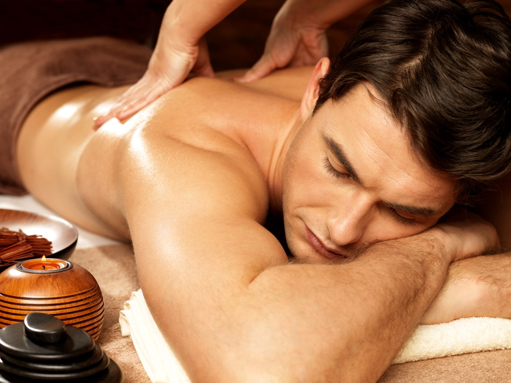 Nuru massage, massage