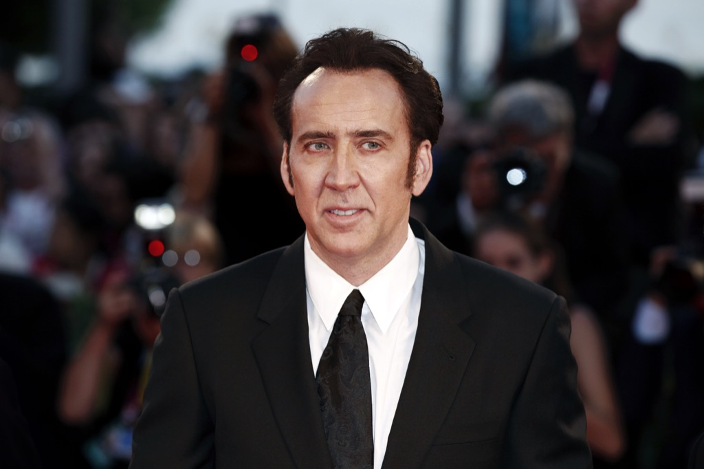 nicolas cage hollywood stars who lost it, celebrity grandparents
