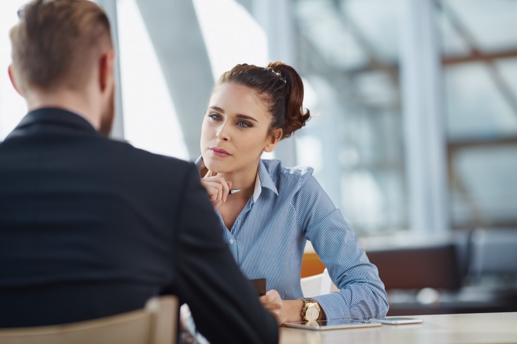 Job candidate, recruiting, interview