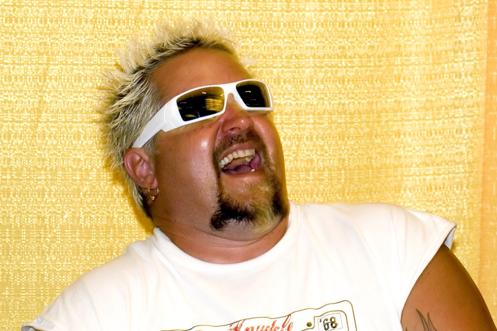 Guy Fieri, what to give up in your 40s
