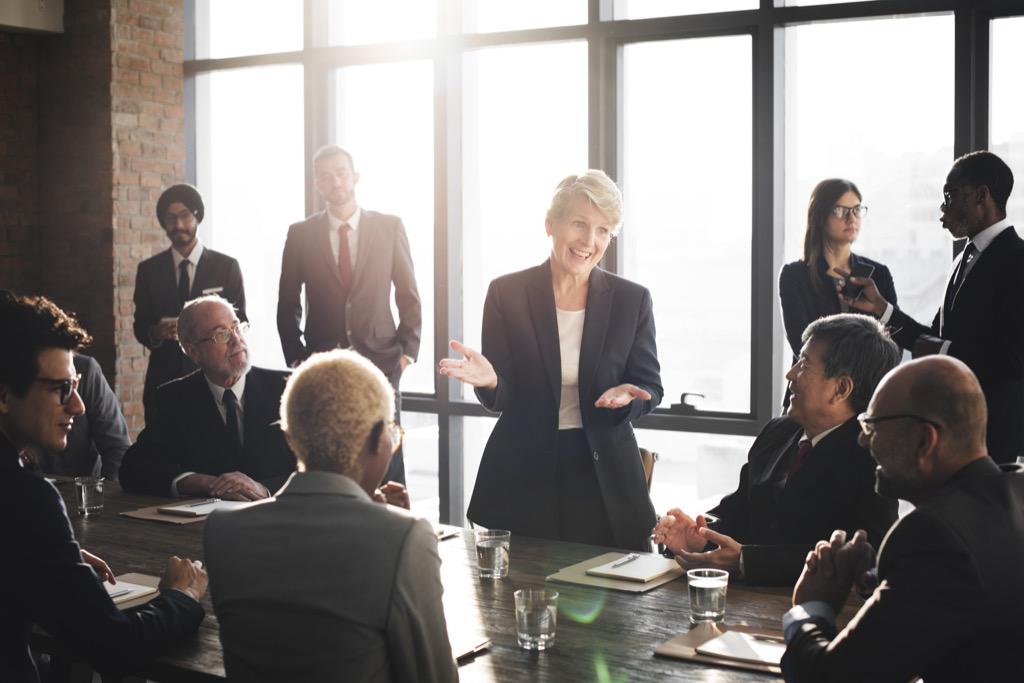 Business ideas, business meeting