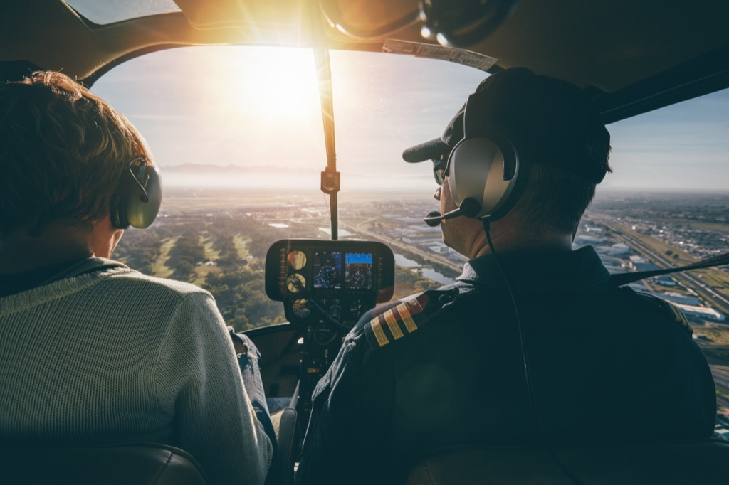 helicopter ride Best Date Ideas