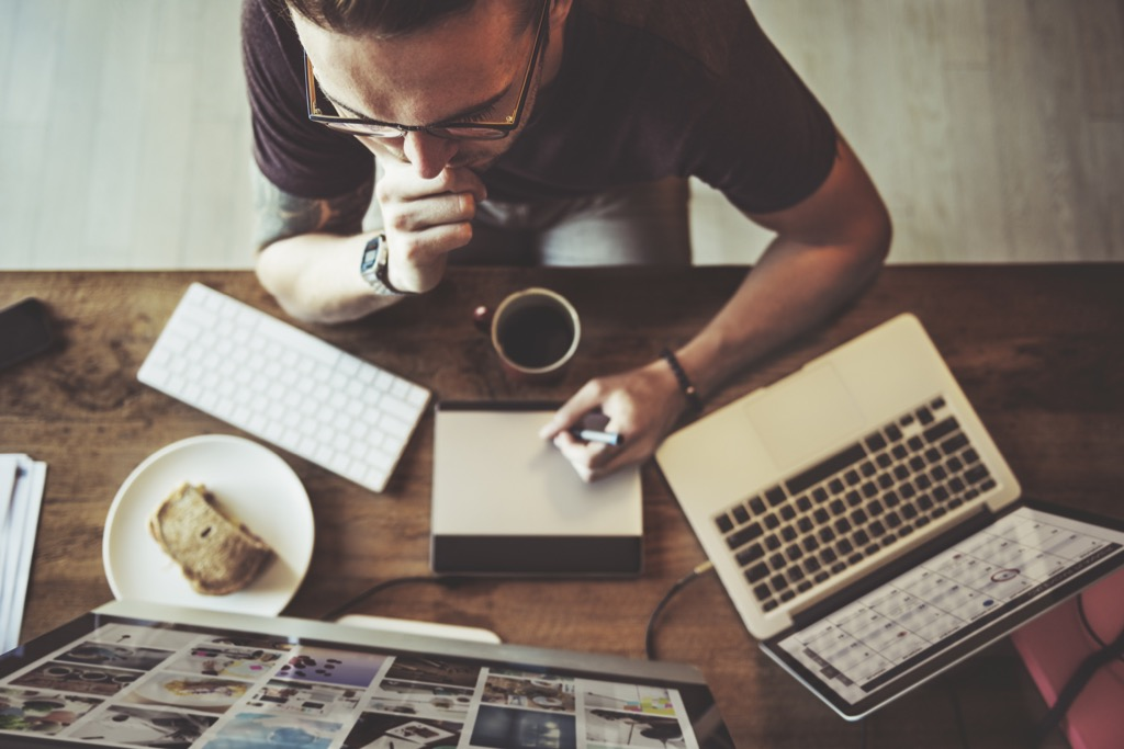 staying busy will give you a photographic memory