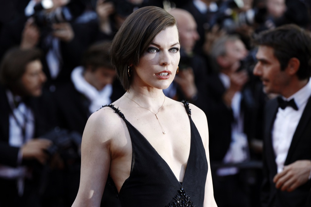 milla jovovich supermodels turned into actresses