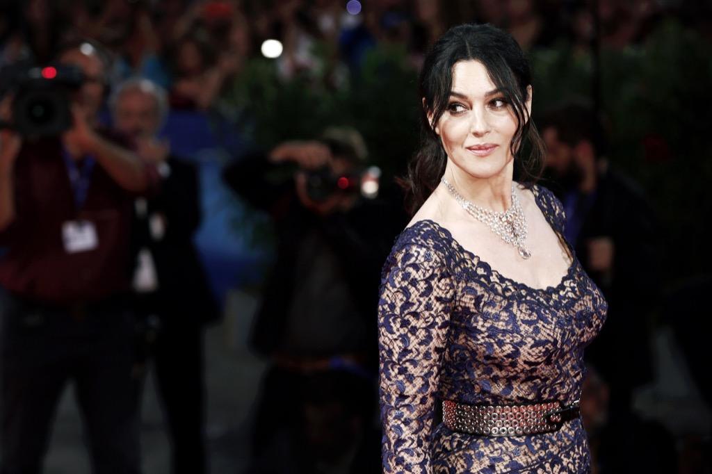 monica bellucci supermodels actresses