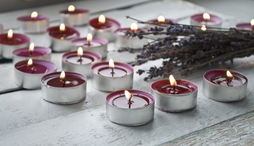 lavender candles perfect nap