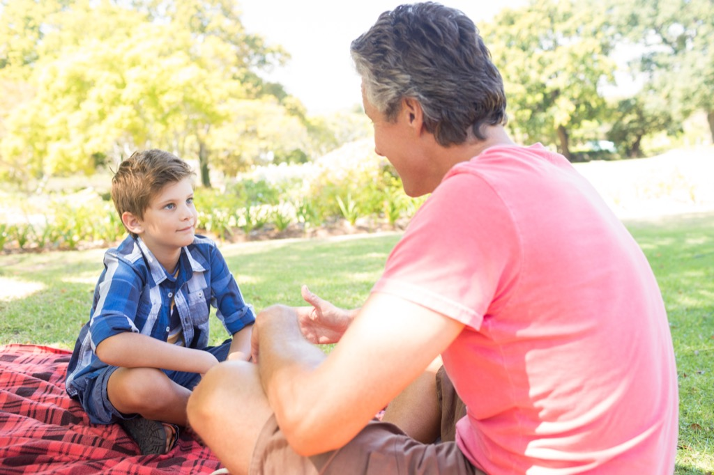 Father and Son Worst Things to Say to Kids